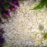 Decorative Gravel Aggregate - Classic White Chippings 850kg