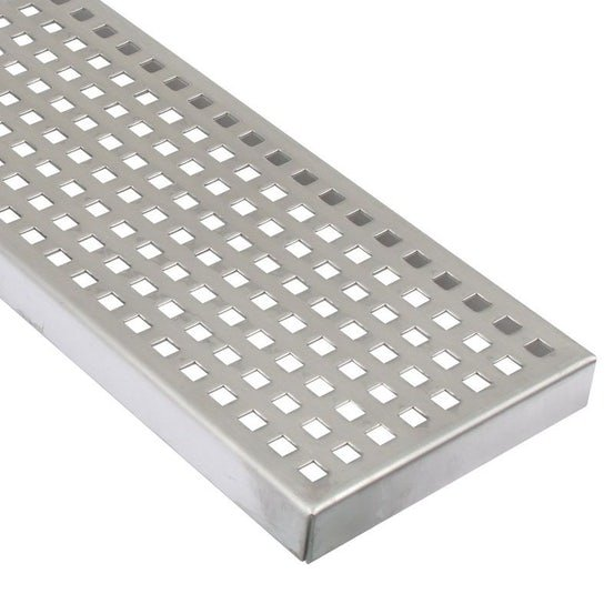 Commercial Linear Channel Drain for Concrete Floor 1000mm - End Outlet