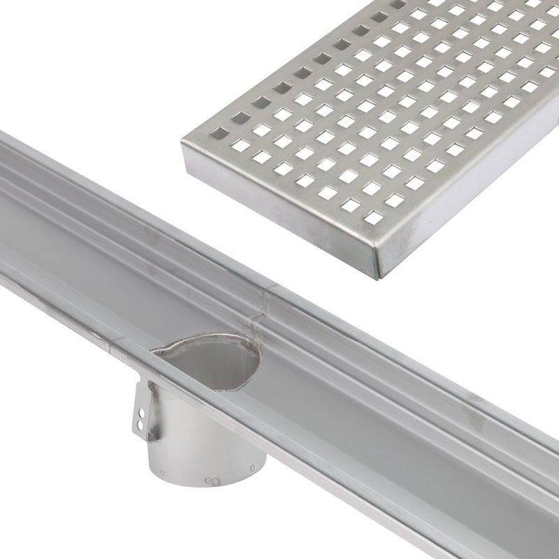 Video of Commercial Linear Channel Drain 1000mm for Concrete - Centre Outlet