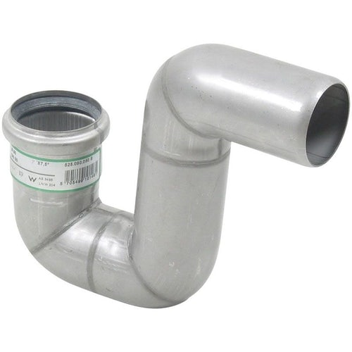Stainless Steel Pipe 50mm P-Trap 316 Grade - Blucher Europipe