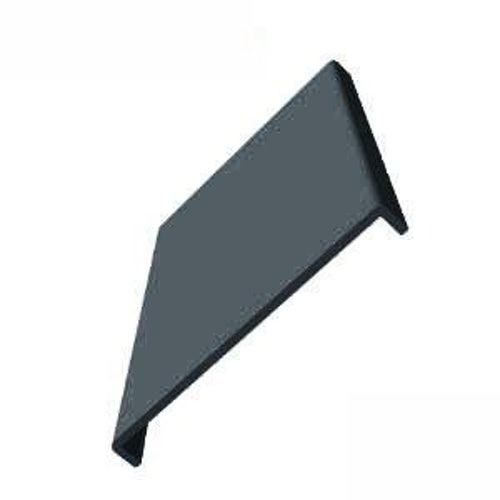 uPVC 605mm Fascia Board (10mm Double Edged Square) 2.5m - Anthracite