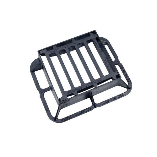 Hinged Gully Grid Cover 336L x 308W x 100H Cast Iron - C250 Class