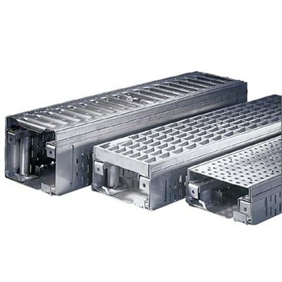 ACO Freedeck Access Frame Fixed Height 50mm Galvanised