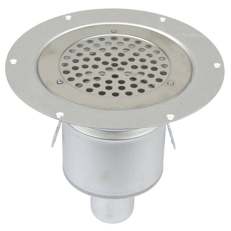 Video of Shower Drain Vertical Circle Gully Stainless Steel 155mm - 50mm