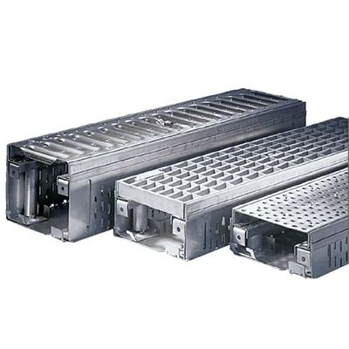 ACO Freedeck Perforated Access Frame Grating - Galvanised Steel