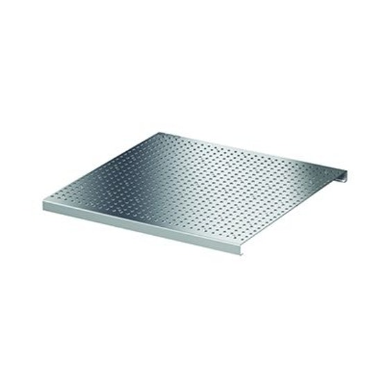 ACO Freedeck Perforated Access Frame Grating - Stainless Steel