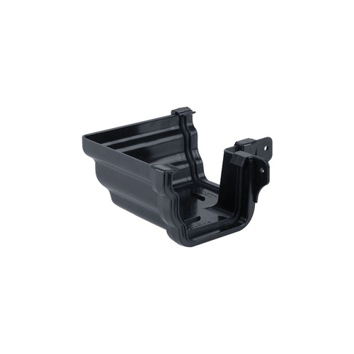 Plastic Guttering Ogee Prostyle 90 Degree External Angle - Anthracite
