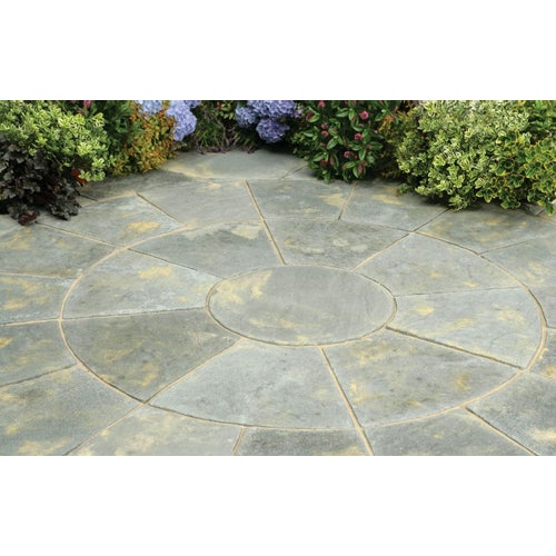 Kelkay Stone Circle Patio Abby Squaring Kit - Antique