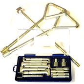 Manual Manhole Cover Lifting Key Set Kit - Monument