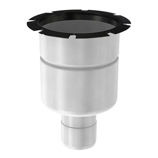ACO Gully 157 Stainless Steel 316 Telescopic Vertical Location Flange