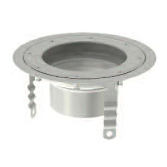 ACO Gully 218 Stainless Steel 316 Telescopic Circular Top 300mm