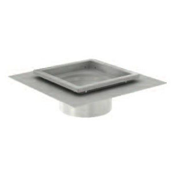 ACO Gully 218 Stainless Steel 304 Telescopic Square Drainage Top 300mm