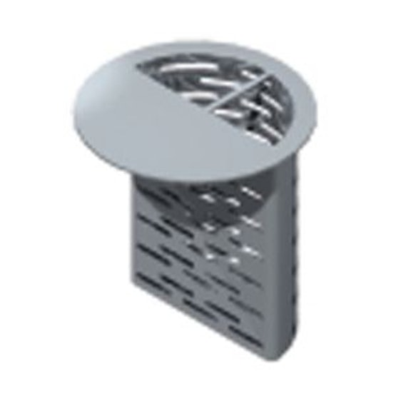 ACO Gully 357 Stainless Steel 304 Horizontal Outlet Silt Basket 9.5l