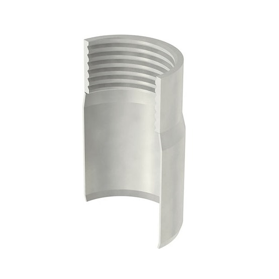 ACO Stainless Steel Pipe Connector with Internal Screw Thread - 50mm