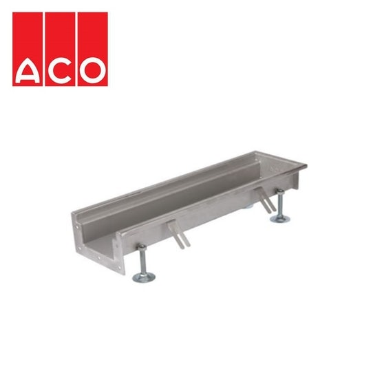 ACO AS301 L Shaped Channel 4070mm x 9910mm x 153mm Wide Built in Falls