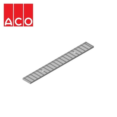 Channel Drain Heelsafe Stainless Steel Grate 1000mm - ACO Modular 125
