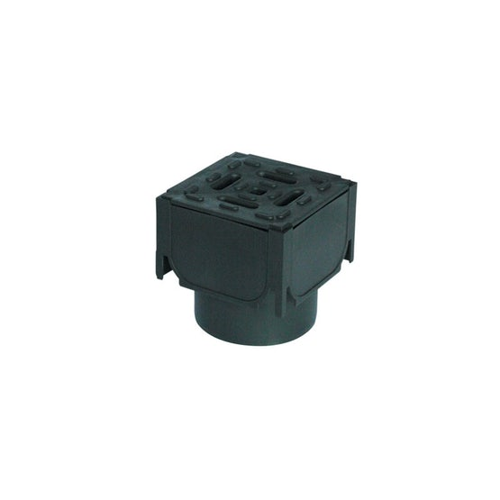 ACO Hexdrain Plastic Channel Drainage Corner Unit and Vertical Outlet