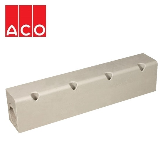 ACO KerbDrain HB405 Half Battered Perforated Centre Stone 25mm Upstand