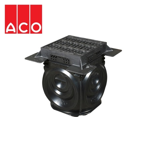 ACO Qmax 150 225 350 Access Chamber Unit with Cover and Frame