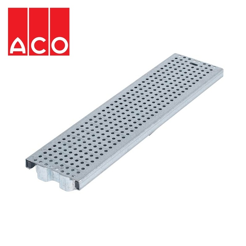 ACO MultiDrain M100 Perforated Galvanised Grating 1000mm- A15 Loading