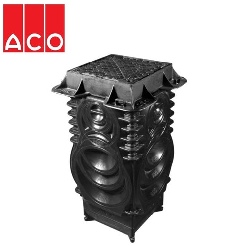 ACO Qmax Deep Access Chamber Assembly with Slotted Cover F900
