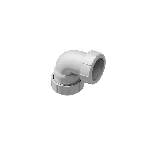 ACO Shower Gully 2Inch Multifit 90dg Bend