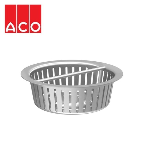 ACO Gully 157 Stainless Steel 304 Horizontal Outlet Silt Basket 0.3l