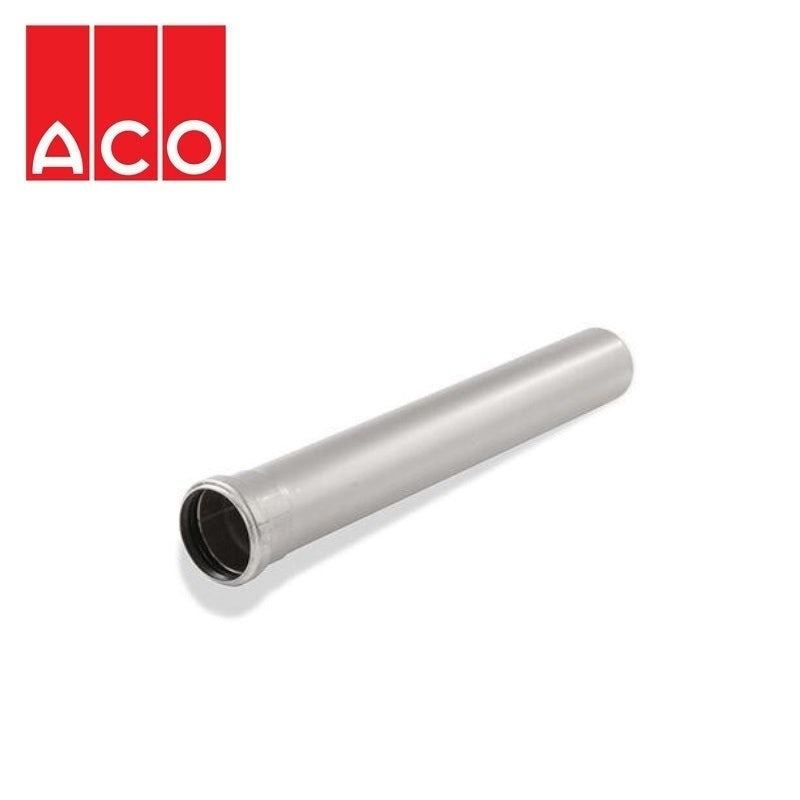 Video of ACO 304 Stainless Steel Socketed Pipe with EPDM Seal 110mm x 2500mm