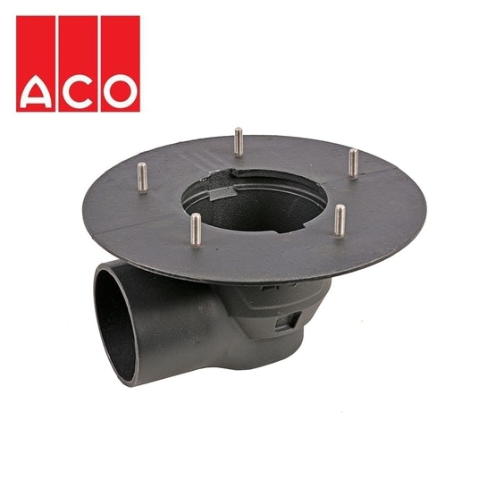 aco-totalflow-gully-horizontal-clamping-outlet-cast-iron-300mm