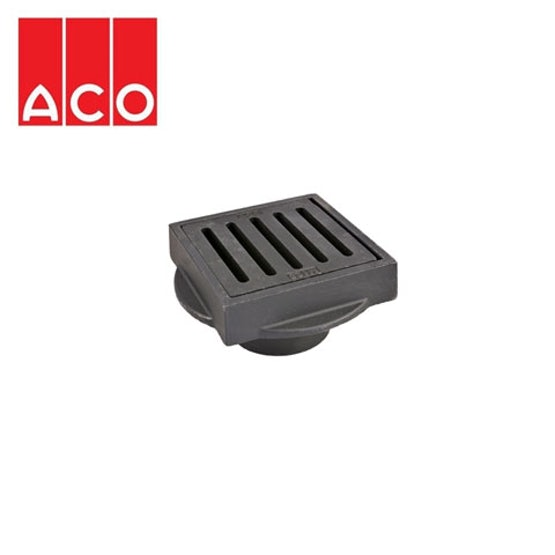 aco-totalflow-gully-top-cast-iron-197mm