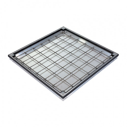 ACO Uniface Recessed 50mm Vinyl Shallow Access Cover 750mm x 750mm - FACTA AA