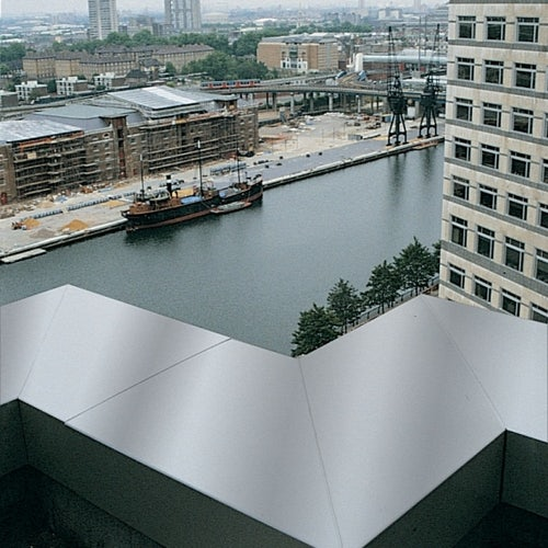 Aluminium Coping Skyline 90dg Corner 302mm - Basalt Grey