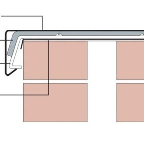 Aluminium Skyline Coping Diagram