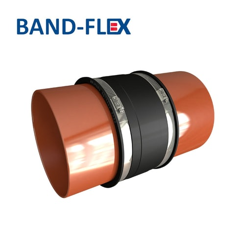 Flexible Drainage Pipe EPDM Coupling 125mm - 150mm