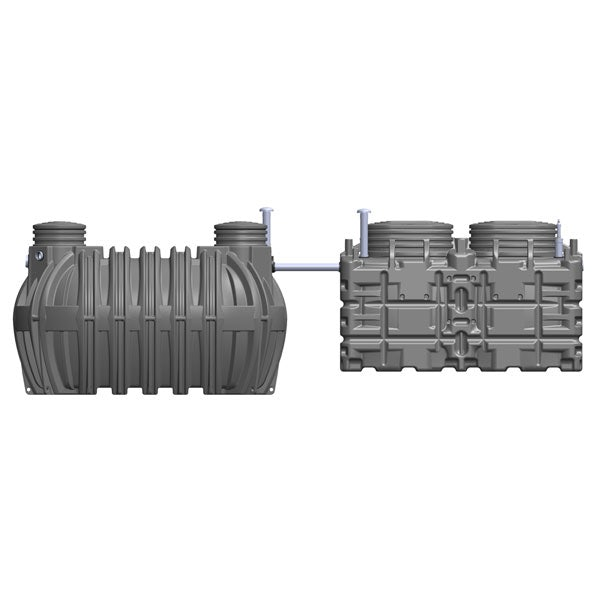 Video of BIOROCK ECOROCK-5000 Sewage Treatment System Gravity Outlet - 20 Person