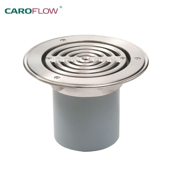Caroflow Advantage Trapped Grating Assembly with Clamping Flange