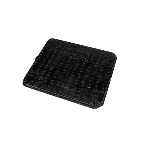 Manhole Cover and Frame 750L x 600W x 40H Cast Iron - B125 Load Class