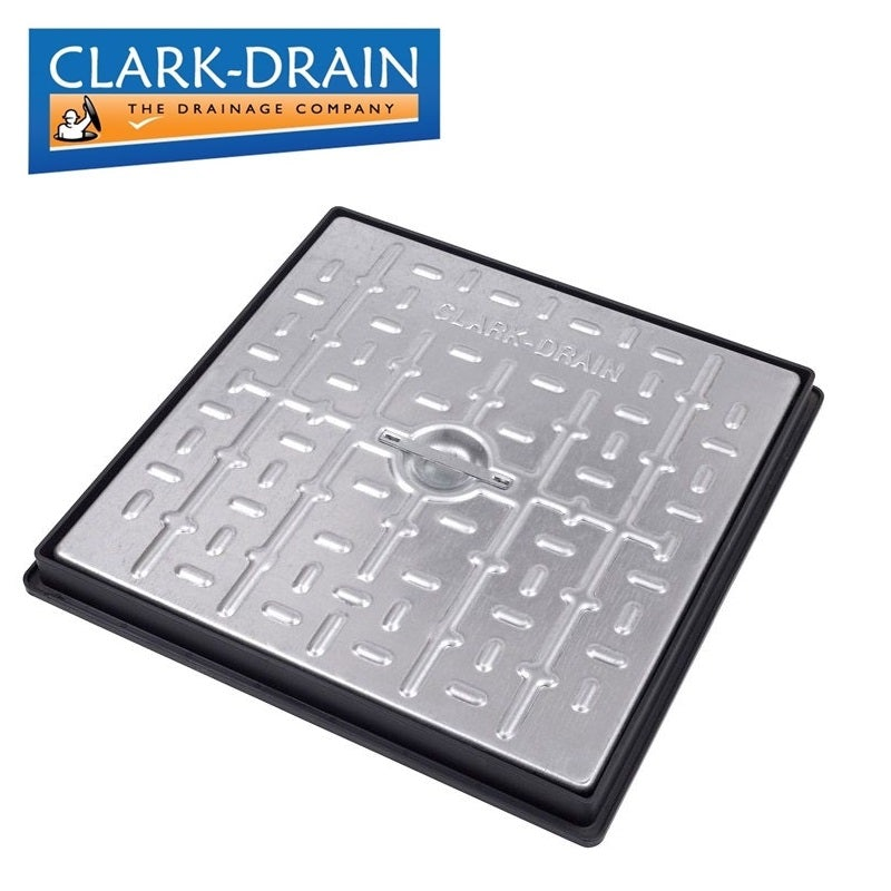 Various Sizes Clark-Drain Galvanised Steel Manhole Cover and Frame