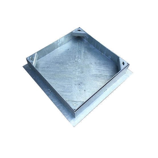 Recessed Manhole Cover & Frame for Block Paving 450 x 450mm - 5 Tonne