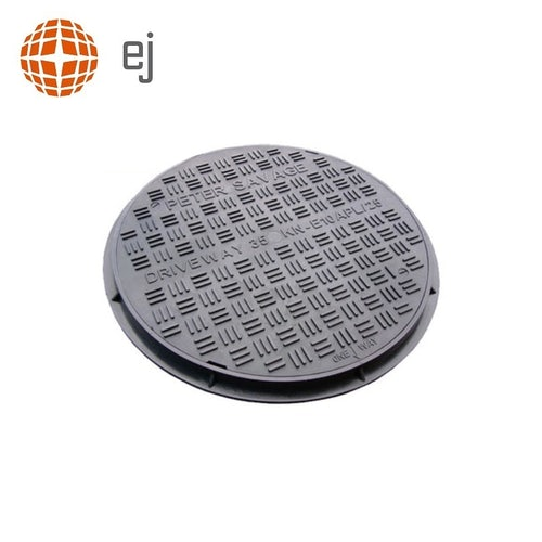 Cast Iron Access Manhole Cover and Frame 450mm Diameter - B125 Class