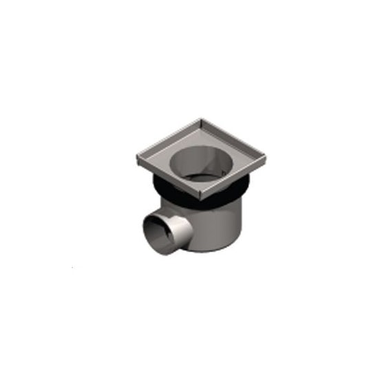 ACO Gully EG150 Stainless Steel 304 Telecopic Horizontal Outlet