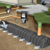 Soakaway Water Attenuation Crate Infiltration Tunnel - Graf