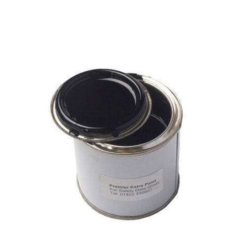 Cast Iron Guttering Black Gloss Touch Up Paint - 250ml