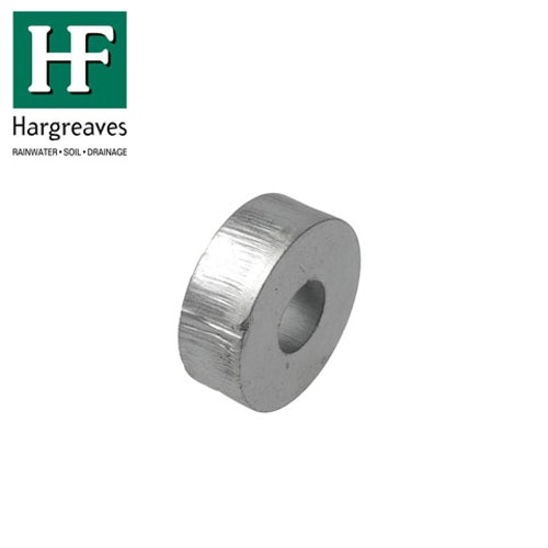 Cast Iron Downpipe Metal Bobbin - 13mm Projection