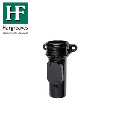 hargreaves-round-rainwater-cast-iron-eared-access-pipe-px-black