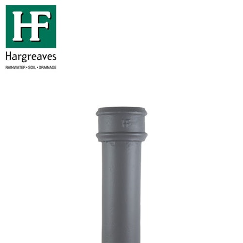 Cast Iron Round Downpipe 65mm x 900mm Length - Primed Finish
