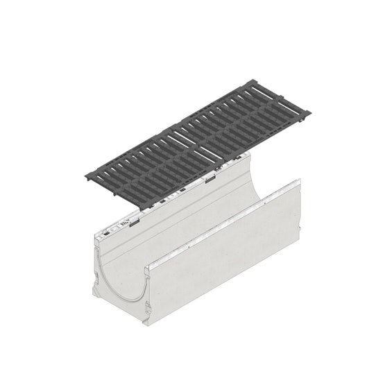hauraton-faserfix-ks300-1m-channel-and-d400-grate-14040