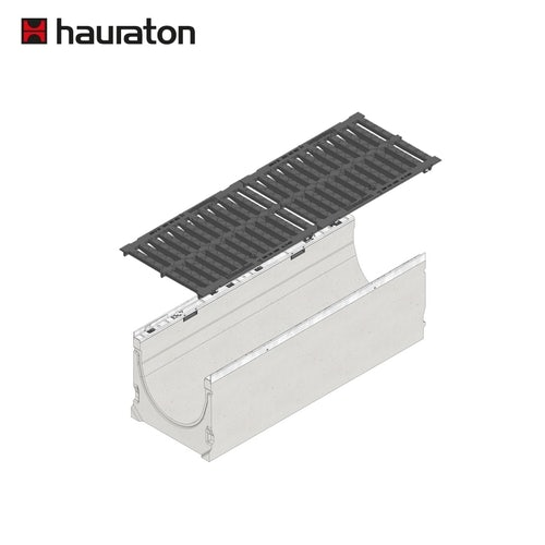 hauraton-faserfix-ks300-1m-channel-and-d400-grate