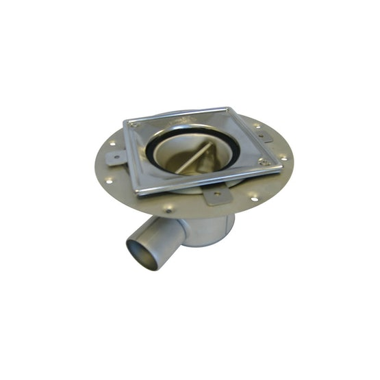 ACO Trapped Shower Gully Horizontal Outlet for Vinyl Flooring - 50mm