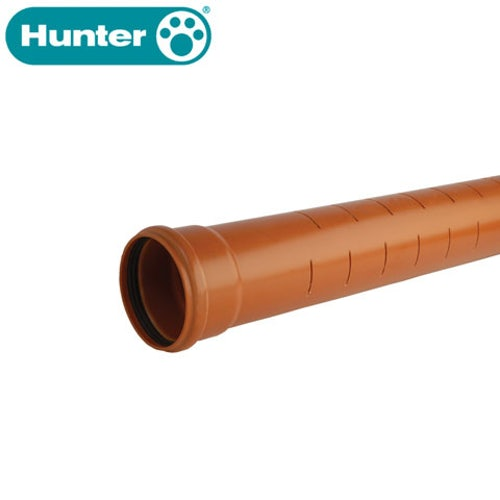 hunter-110mm-slotted-land-drainage-pipe-6m-ss-terracotta-ds546